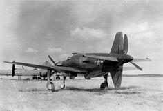 Do 335 Pfeil with USAF markings