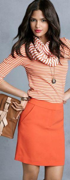 stripes style ♥✤   KeepSmiling   BeStayClassy
