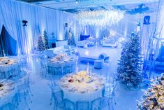 This couple wanted to recreate the first time they meet, so they decided on an elegant Russian Winter Wonderland Winter Wonderland Wedding Theme, Winter Wonderland Decorations, Winter Theme, Sweet 16 Decorations, Winter Decorations, Wedding Decorations, Quince Themes, Quinceanera Themes, Wedding Themes