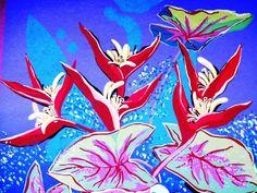 Yara Tupinambá Folhas E Flores Serigrafia Fantástica
