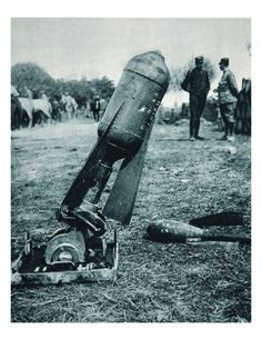 The bombing of mortars from the hills,