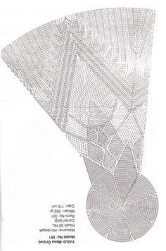 Crochet Doily Diagram, Crochet Mandala, Filet Crochet, Crochet Motif, Crochet Designs, Knit Crochet, Crochet Round, Crochet Squares, Doily Patterns