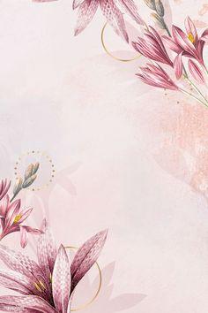 Trendy Ideas For October Wedding Pink Flower Background Wallpaper, Framed Wallpaper, Cute Wallpaper Backgrounds, Pretty Wallpapers, Flower Backgrounds, Vector Background, Background Patterns, Iphone Wallpaper, Crown Background