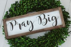 How to Add a Wood Frame to Your DIY Sign