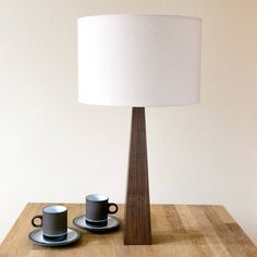 natural wooden table lamp by hunkydory home | notonthehighstreet.com