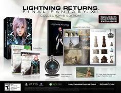 Lightning Returns: Final Fantasy XIII Collector's Edition Will Make Sure You Never Lose Track of Time