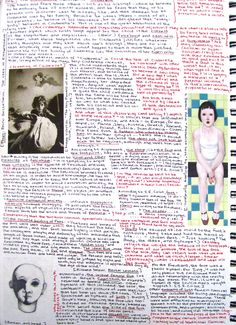 """Laura Stanziola, Page 106 from the Journal on perversity.  (""""Shoes like second skins mold to the foot's contours, they take and hold the marks of life..."""" Susan Best)"""