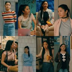 Billedresultat for lara jean outfits Lara Jean, Outfit Jeans, Fall Outfits, Cute Outfits, Fashion Outfits, Movie Inspired Outfits, Movie Outfits, Best Kids Watches, Aesthetic Clothes