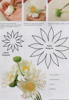 Шаблоны и выкройки различных цветов и листьев - ХЛЕБОПЕЧКА.РУ - рецепты, отзывы, инструкции