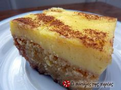 Πολίτικο Θεσσαλονίκης Greek Sweets, Greek Desserts, Greek Recipes, Greek Cooking, Cooking Time, Greek Cake, Delicious Desserts, Yummy Food, Greek Dishes