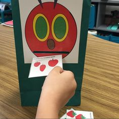 Feed the Caterpillar Basic Concepts! Makes for a great companion to the Very Hungry Caterpillar Book!