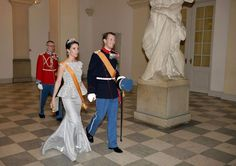 Dutch State visit to Denmark - Gala Dinner at Christiansborg Palace