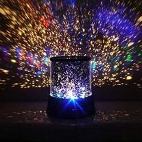 A wonderful tool for the stage, dance halls, and family party! This Stars Cosmos Laser Projector might even evoke the sense of wonder in adults as they remain cooped in a dark room, doing some personal reflection on just how small they are compared to the relative size of the universe. Powered b...