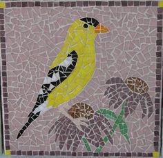   Goldfinch Mosaic