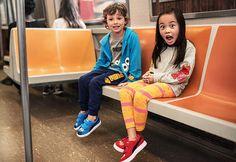 Cookie Monster and Elmo are taking us to Sesame Street! Eeeee!