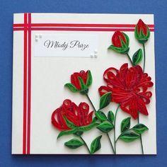 Jedna z moich ulubionych kartek #quilling #quillingflowers #quillingcard #paperflower #paperartist
