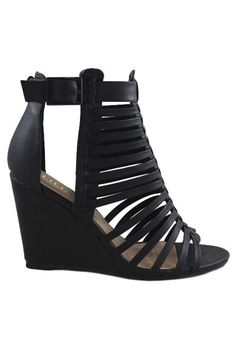 Salem Strappy wedges