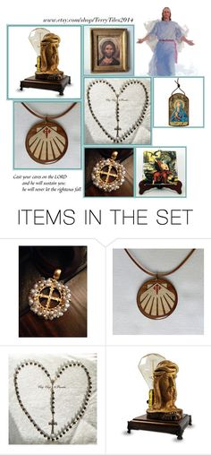 """Religious Art on Etsy by TerryTiles2014 - Volume 273"" by terrytiles2014 on Polyvore featuring arte, etsy, art, catholic e religious"