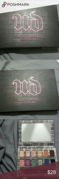 Urban Decay nocturnal shadow box Slightly used please look at pics you're buying as is Urban Decay Makeup Eyeshadow