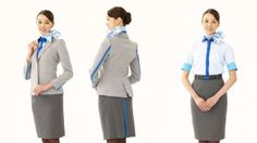All Nippon Airways uniforms (American Airlines and All Nippon Airways flight attendants get new designer uniforms)