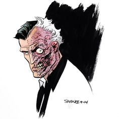 Two-Face by Chris Samnee and Nathan Fairbairn