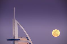 BURJ AL ARAB DUBAi - MOONRISE