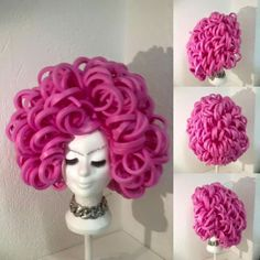 my wig, made in the Netherlands! - my wig, made in the Netherlands! Costume Wigs, Costume Shop, Costume Makeup, Diy Costumes, Foam Wigs, Mannequin Art, Wig Hat, Festival Costumes, Dresses For Less