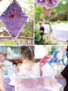 Woodsy & Magical Butterfly Birthday Party by #fancifulevents