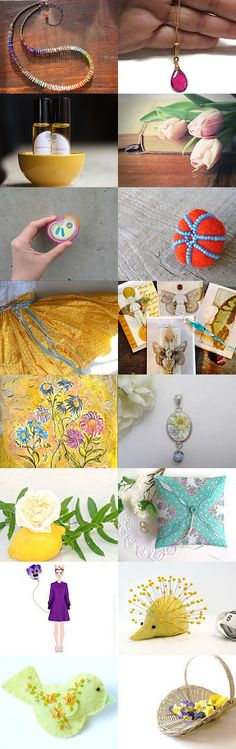 Springing into summer by Charlotte Smith on Etsy--Pinned with TreasuryPin.com
