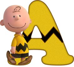 *✿**✿*A*✿**✿* Snoopy Love, Charlie Brown Snoopy, Snoopy Birthday, Snoopy Party, 1st Birthday Girls, Letras Charlie Brown, Peanuts Dance, Illustrator, Scrapbook Letters