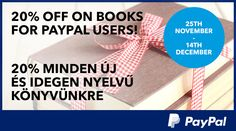 PayPal hírlevél kampány - 11.26 | bookline
