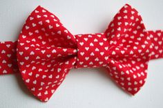 Polka dot Bow Tie Kids Bow Tie Boys Bow Tie by WatfordTies on Etsy Toddler Bow Ties, Kids Bow Ties, Polka Dot Bow Tie, Red Bow Tie, Bow Tie Collar, Bow Tie Wedding, Little Critter, Baby Bows, Collars