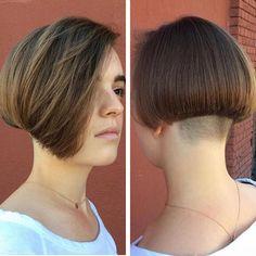 Undercut with Bob Hair Styles - Short Haircuts 2016