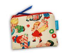 Mini  Kosmetiktasche Schminktäschchen Zipper Pouch, Pouches, Mini, Lunch Box, Etsy, Bags, Fashion, Craft Gifts, Schmuck