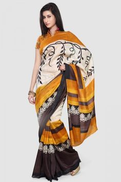 This Orange Matka Tussar Silk Hand-loom Saree is an absolute delight to wear due to its opulent fabric and subtle texture. The earthy colours is very unique and speaks a style of its own.