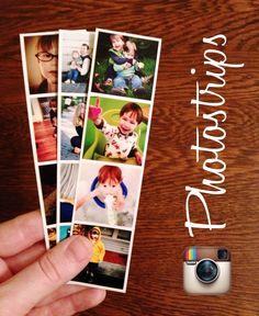 DIY Instagram Photostrips