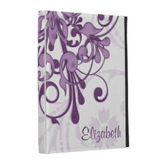 Personalized Purple White Floral iPad Folio Case lowest price for you. In addition you can compare price with another store and read helpful reviews. BuyReview          Personalized Purple White Floral iPad Folio Case Review from Associated Store with this Deal...