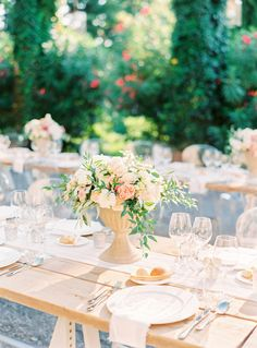 Outdoor castle wedding