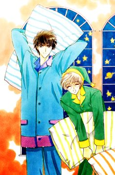 Tōya & Yukito | Card Captor Sakura #manga