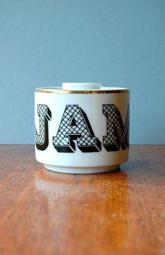 Georges Briard 3-D Graphic Jam Jar
