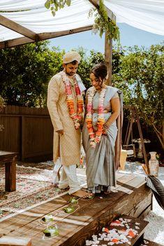 Intimate Backyard Indian Wedding – Carmelisse Photography – Leilani Weddings 38