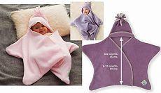 Модные и шитья Советы:халат-плед для ребенка после купания