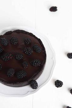 ... blackberry oreo chocOlate tart ...