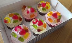 haribo halloween cupcakes