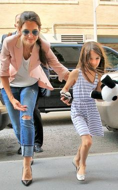 Sometimes  Suri Cruise makes kids not look so bad to me :)