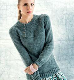 À tricoter avec 13 pelotes partner 3.5 phildar