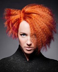 http://www.esteticamagazine.com Hair: Phillip-Todd  Product: Aveda Full Spectrum Hair Color  Photography: Alex Lim  Make Up: Jamyrlyn Mallory.