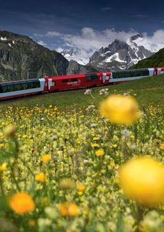 The Glacier Express - Switzerland