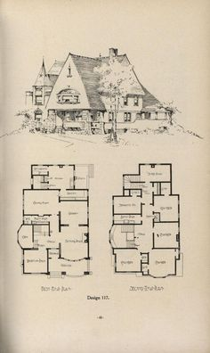 1000 ideas about vintage house plans on pinterest for Vintage house plans 1900