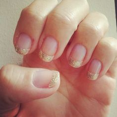 My 2012 sparkly New Year's Eve nails :)